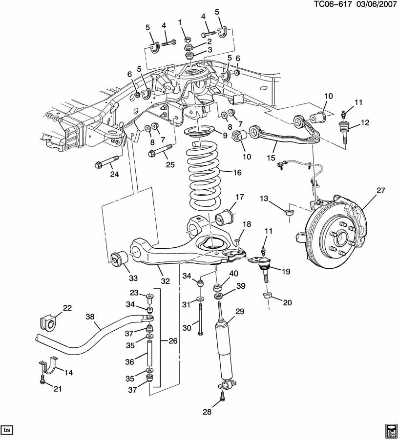 Wiring Diagram  11 1998 Chevy Silverado Rear Drum Brake