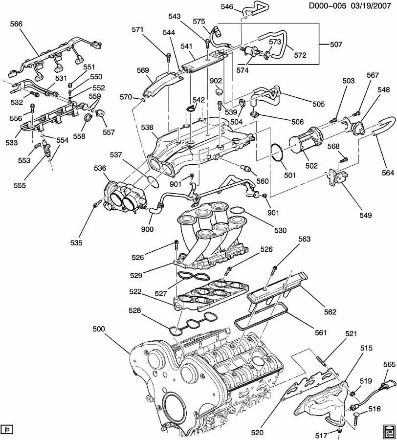 2005 saturn engine asm