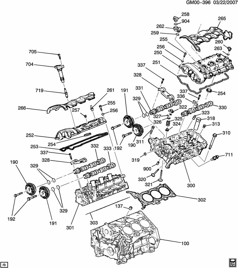 Cadillac Engine Asm