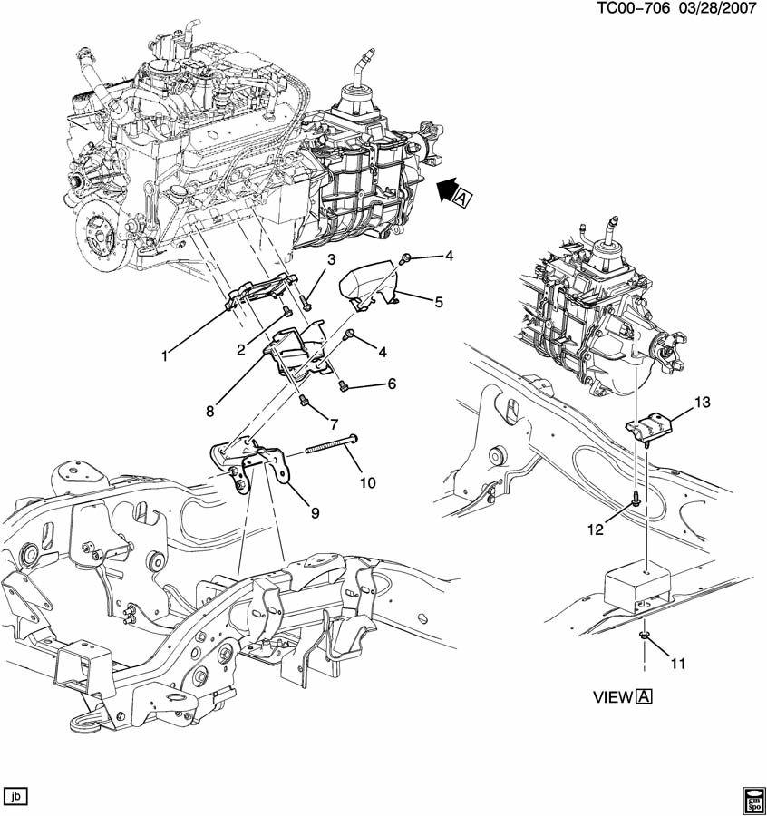 11517827  Fascia Mounting  Engine Clutch