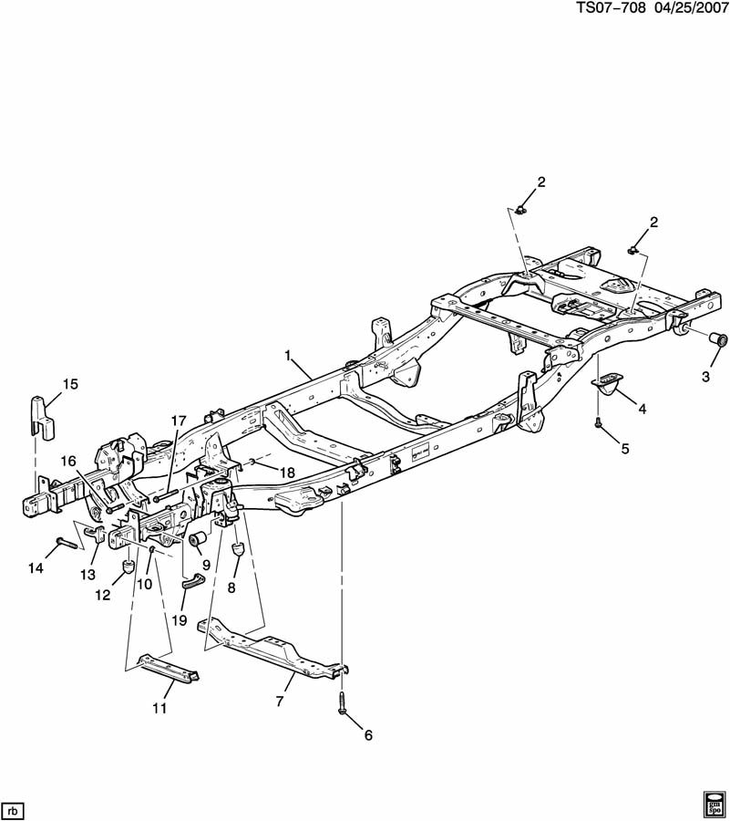 Chevrolet Colorado Frame  Chassis  Frame  Chassis  Framechassis