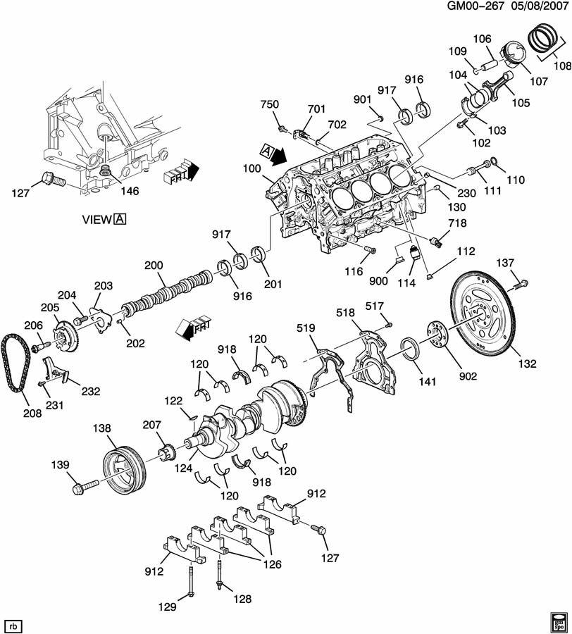 2010 Gmc Acadia Pin  Engine Cylinder Head  Pin  Cyl Hd Loc