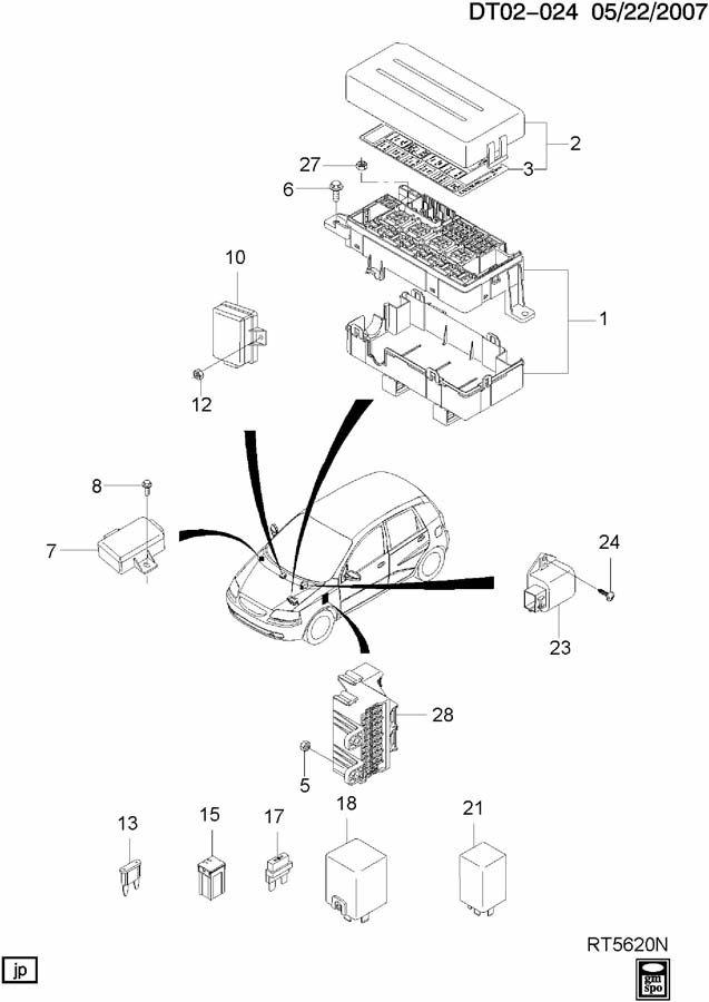 module box fuse  u0026 relay