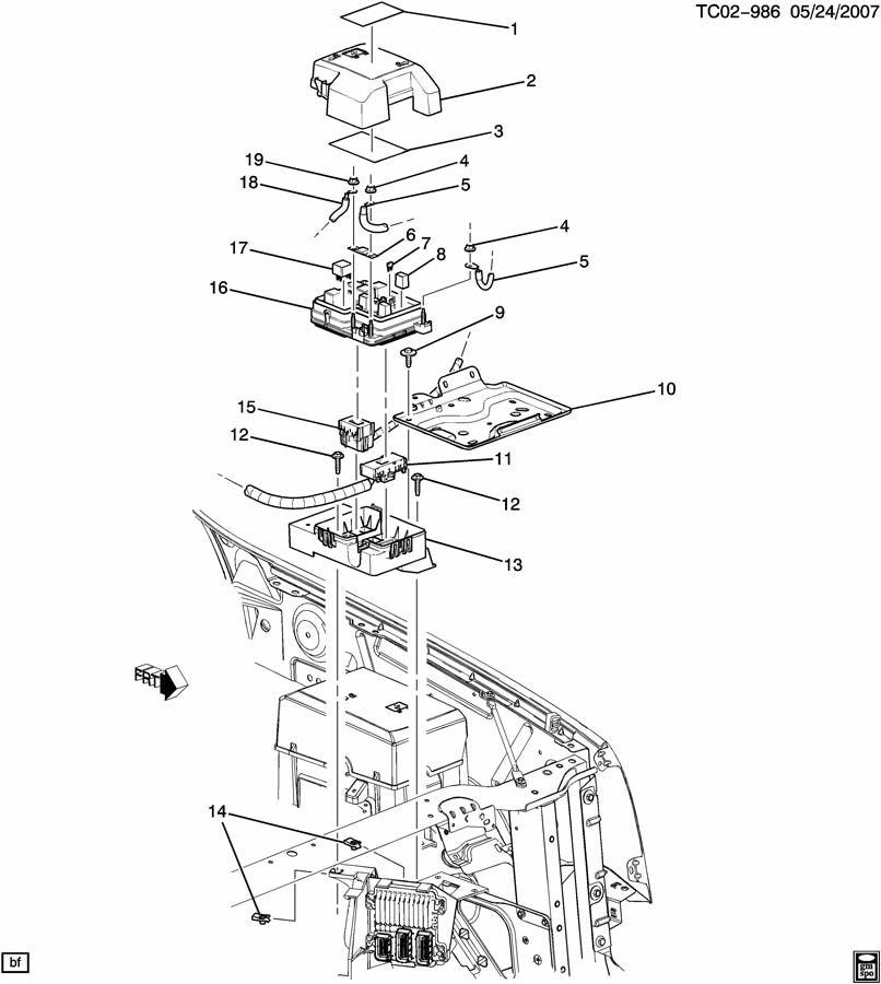 chevrolet tahoe fuse chassis electrical fuse 200 amp. Black Bedroom Furniture Sets. Home Design Ideas