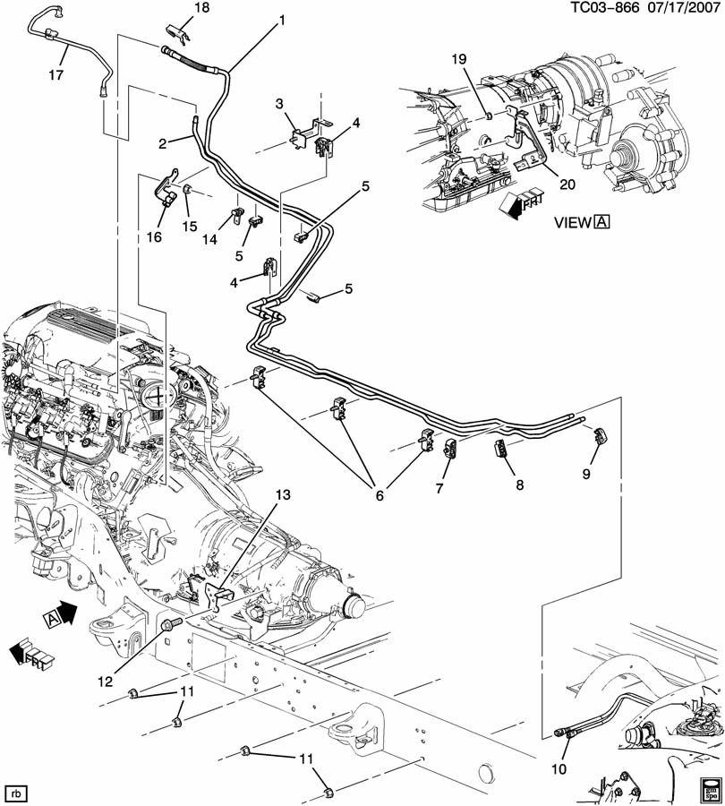 2006 Chevrolet Silverado Hose  Evaporation Emission System