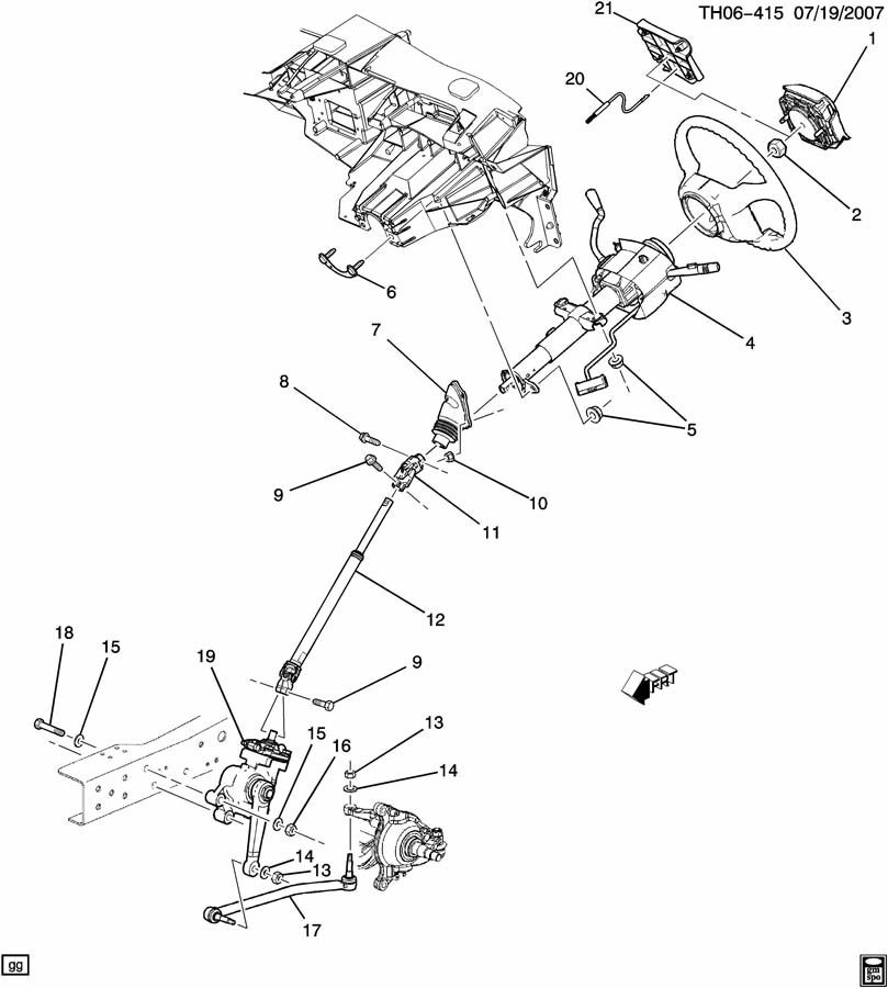 gmc c6500 parts steering diagrams  gmc  free engine image