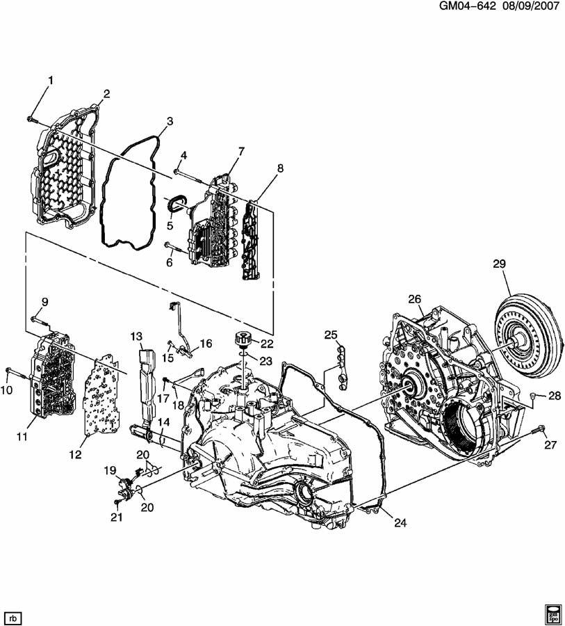 chevrolet captiva automatic transmission 1993 gmc transmission diagram 6t40 transmission diagram #15