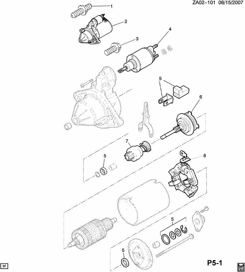saturn astra starter motor  u0026 mounting