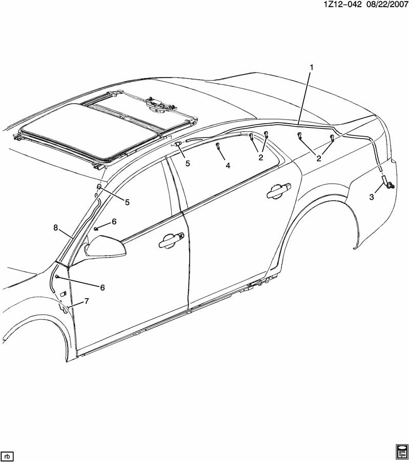 2006 Pontiac G6 Air Conditioning Wiring Diagram moreover T12171947 Need firing diagram 91 silverado 2500 also Exploded View Of Chevy Equinox Reviews in addition Cadillac Srx 2004 Transmission Diagram also 96 Chevy S 10 Blower Motor Relay Location Diagram. on gm sunroof diagram