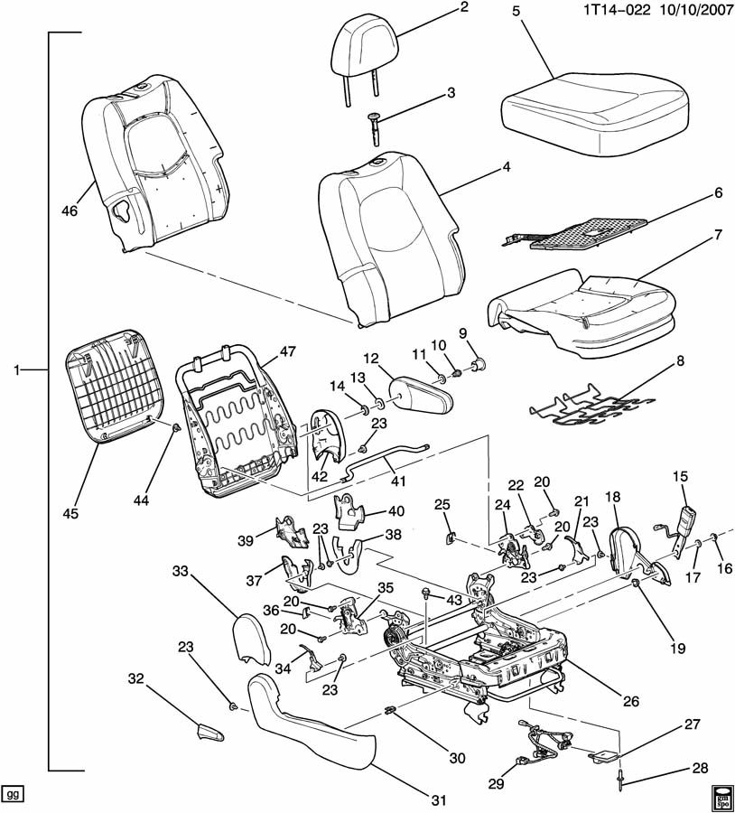 glock 21 diagram pictures to pin on pinterest