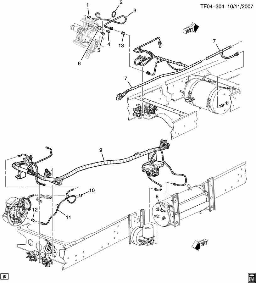 Gmc C8500 Switch  Brake Press Indicator  Switchlow
