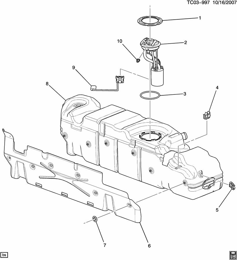service manual  2008 gmc sierra change gas tank vent line