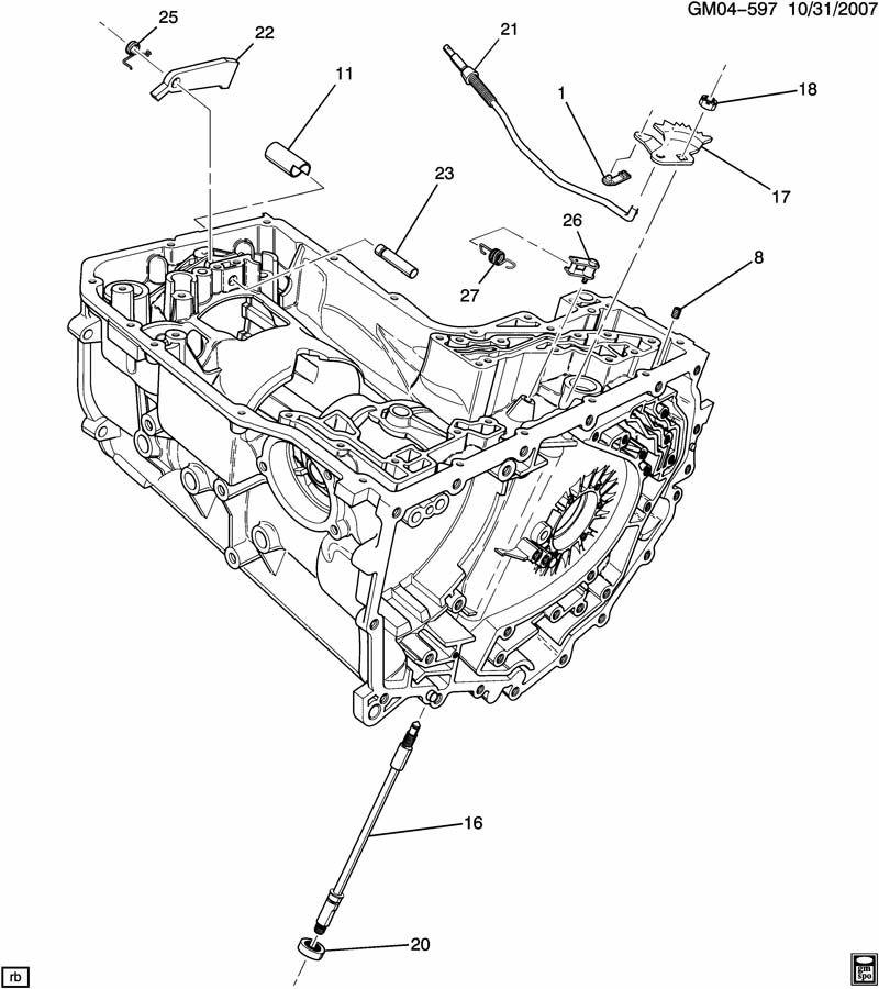gm 4t80e automatic transmission diagram