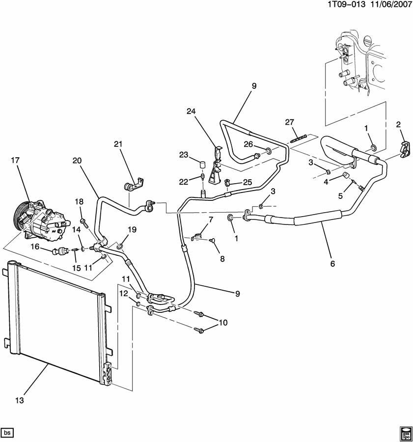 2005 pontiac vibe exhaust system