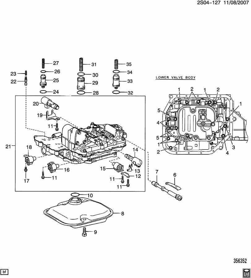 diagram for pontiac transport parts