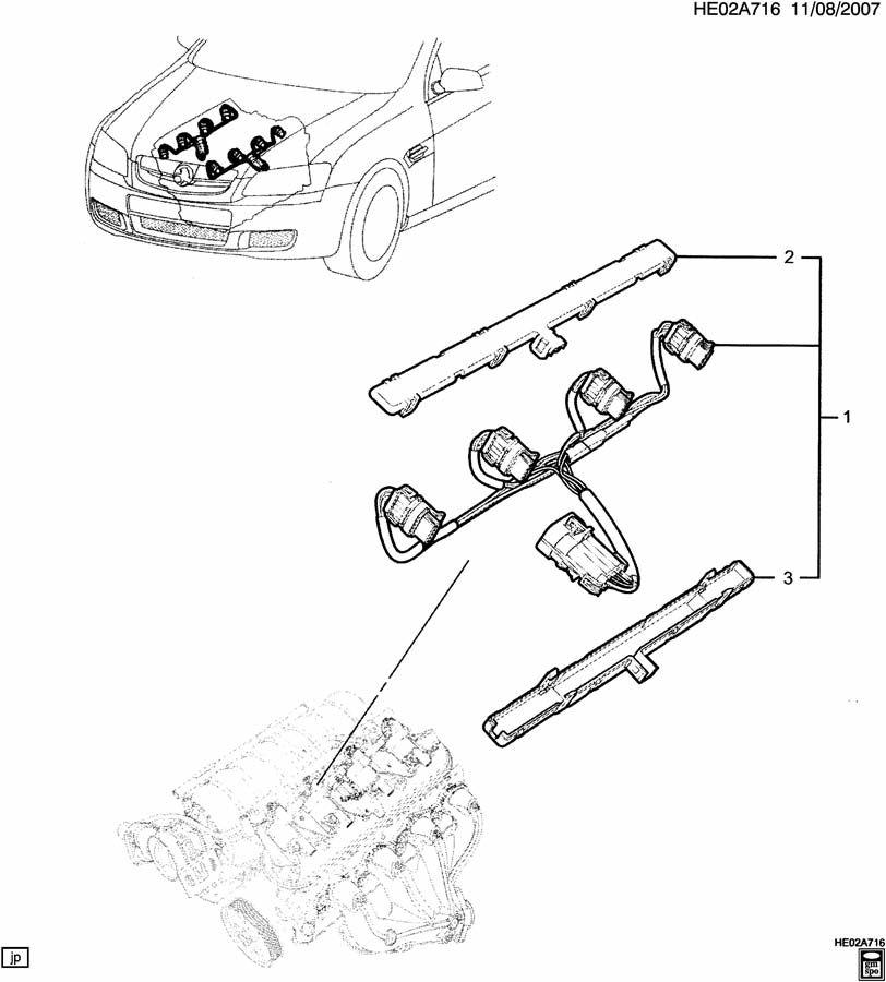 e wiring harness  engine 6 0y   e wiring harness  engine 6