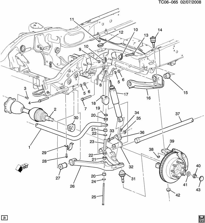 suspension  front part 1