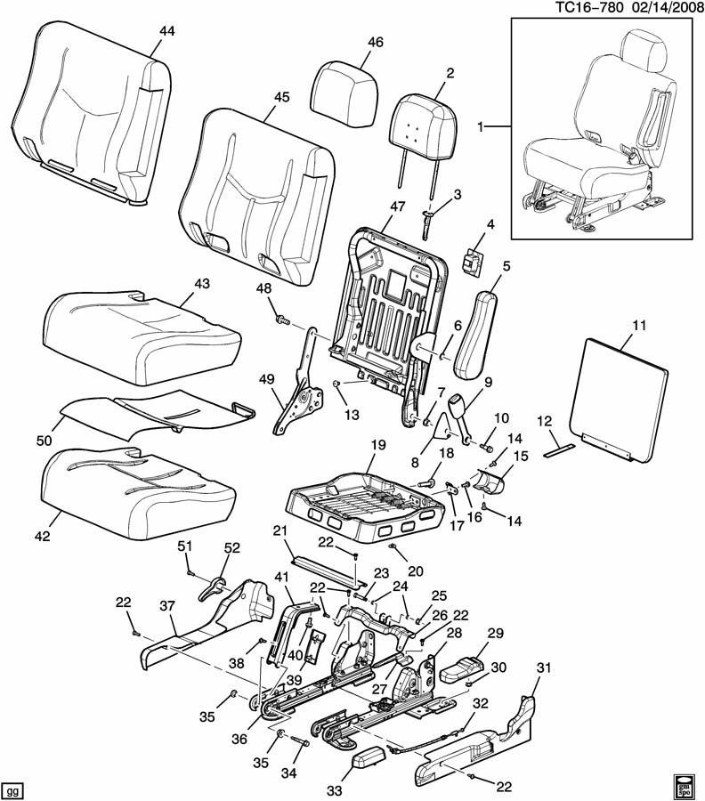 chevrolet suburban rear seat