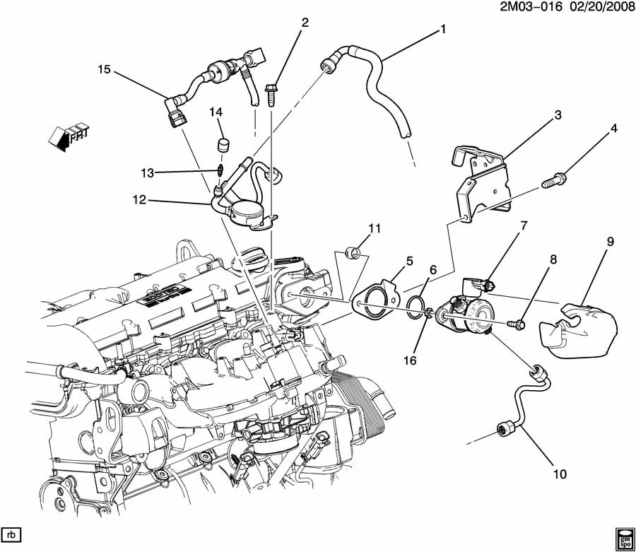 2007 chevy hhr engine diagram