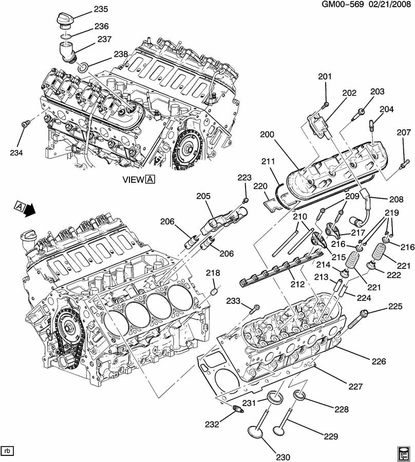 7 3 powerstroke injector parts diagrams
