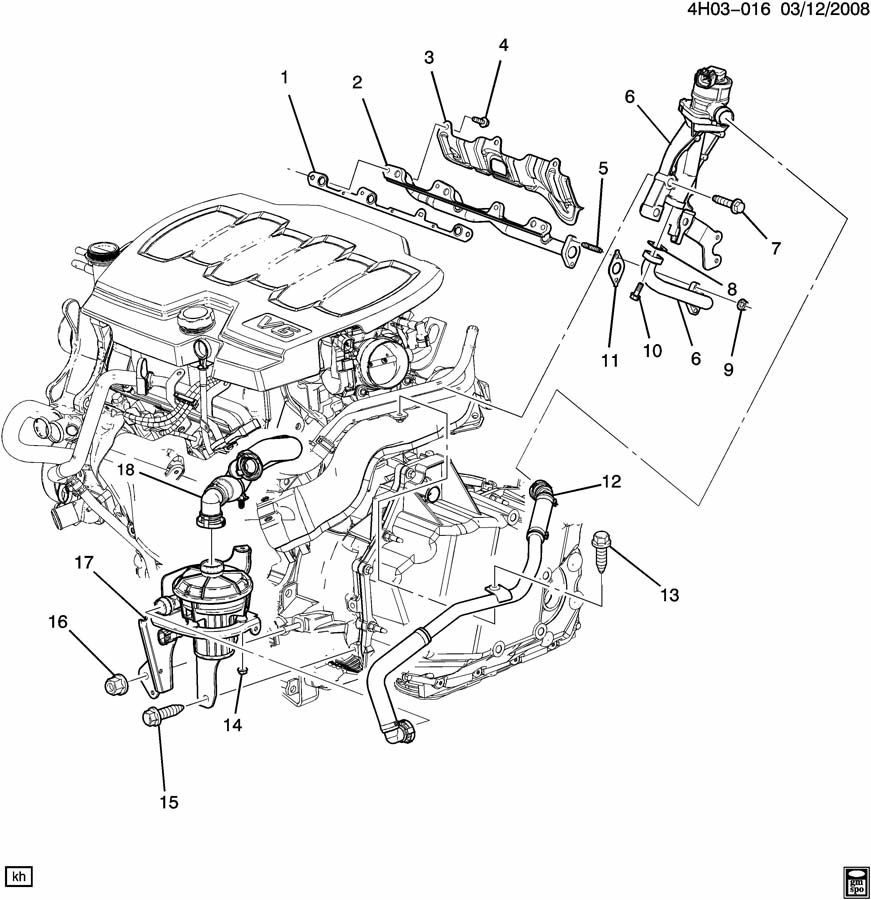 2012 Chevrolet Cruze Bolt Bar Stabilizer Lower Manual Guide