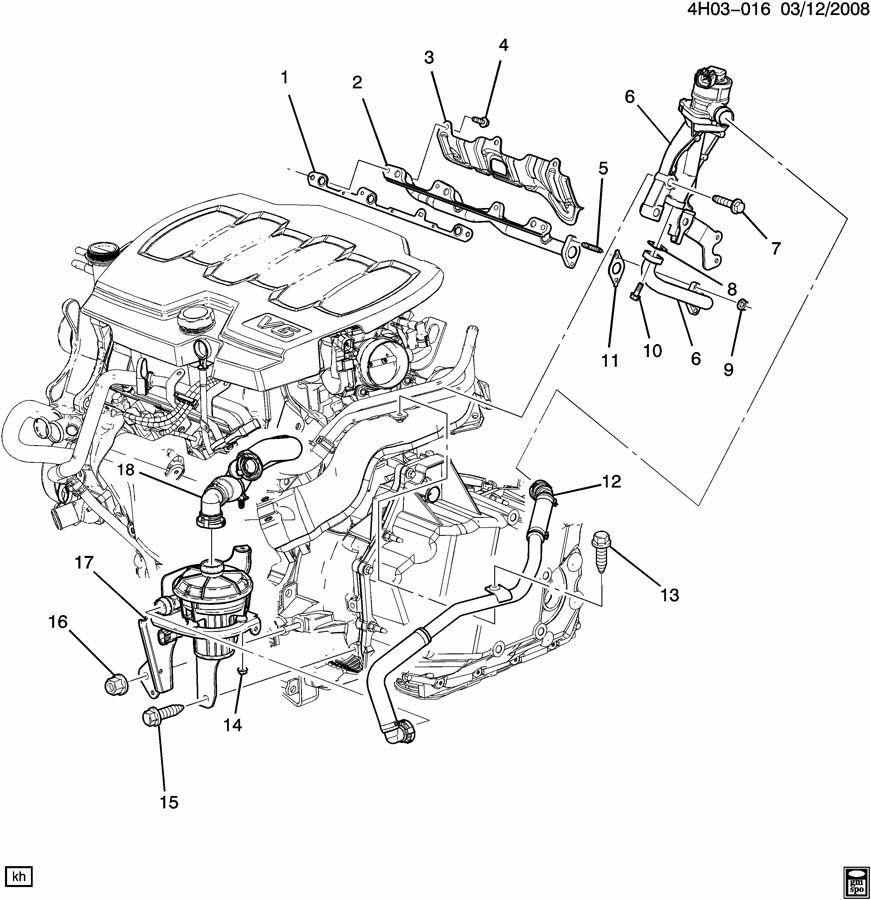 2012 Chevrolet Cruze Bolt  Bar  Stabilizer   Lower