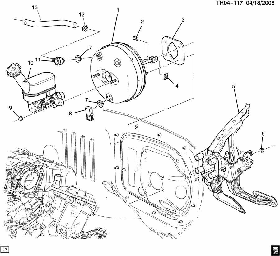 Gmc Acadia Cylinder  Brake Master Cylinder  Cylinder  Brk Mas Acdelco  174-1231