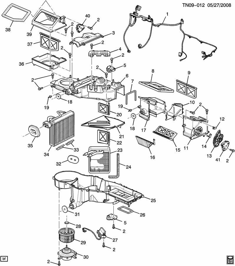 Hummer A  C  U0026 Heater Module Asm