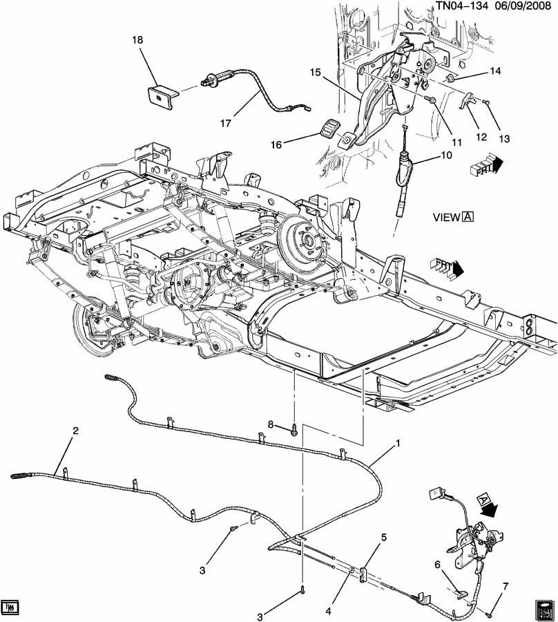 Hummer H2 Brake Line Diagram : Hummer h n parking brake system