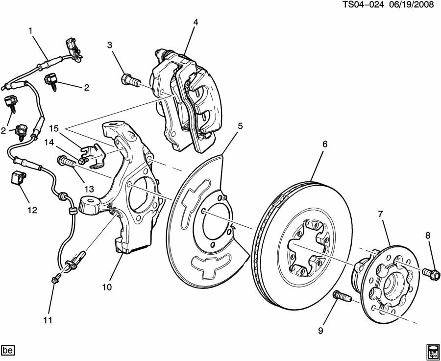 Gmc Canyon Length >> the bolts that hold the front brake calipers on ...