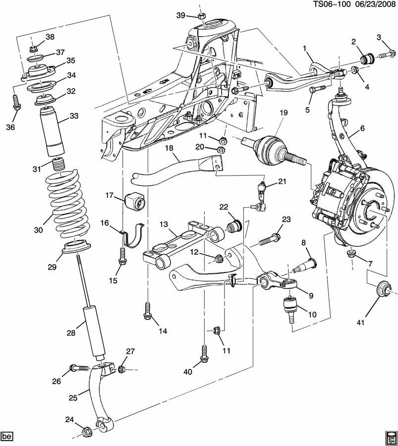 Buick Rainier Absorber  Front And Rear Suspension