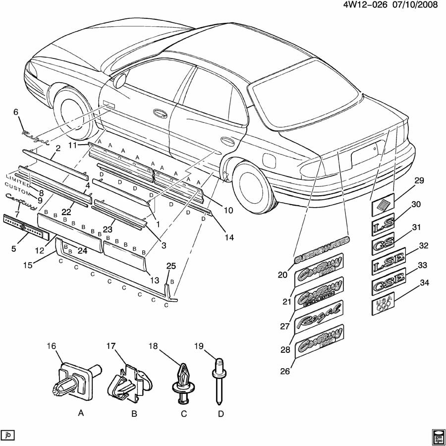 Gm Steering Column 25933396 further Gm Seat Frame 22701592 also 351 Windsor V8 Engine Diagram as well I00005A as well 3100 V6 Sensor Wiring Diagram. on green buick regal