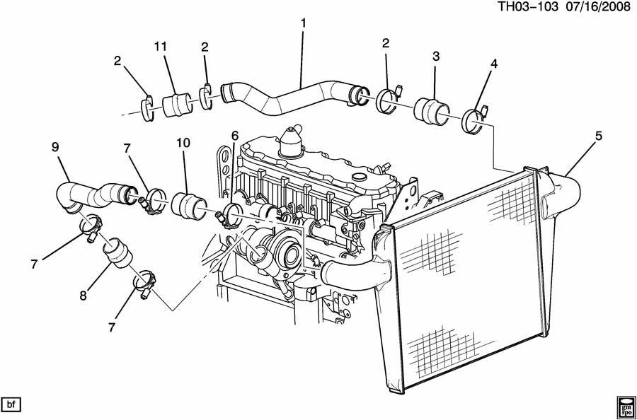 turbocharger intercooler system