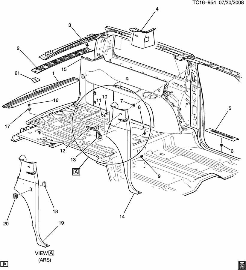 chevrolet silverado trim  interior