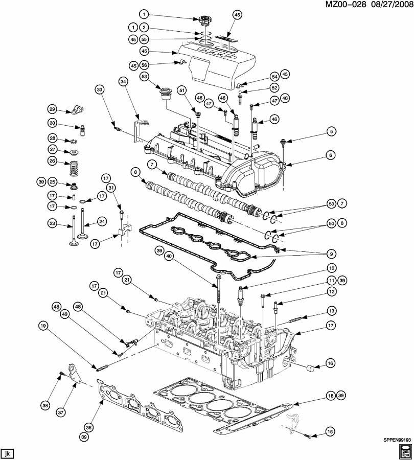 Chevrolet S10 Stud  Bolt  Engine Coolant Thermostat