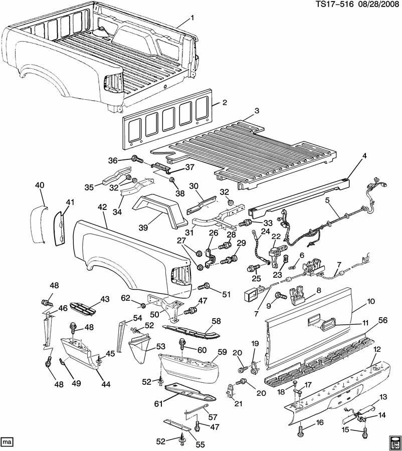 Chevrolet S10 Extension  Rear Bumper Step  Sourcerepls