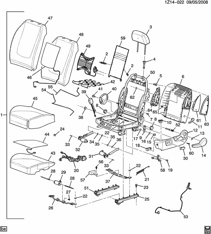 Replacement Clips For Driver U0026 39 S Seat  - Page 2