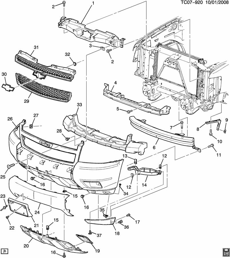 2008 Chevrolet Avalanche Z71 Sut Plate  Front And Rear