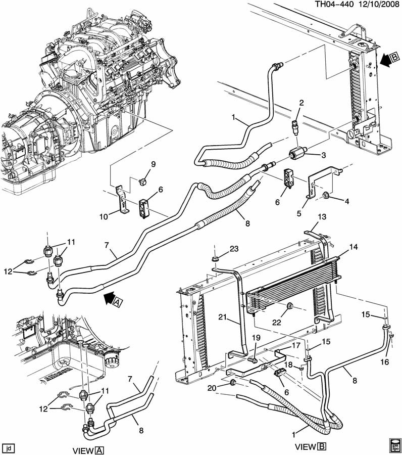 cooling system diagram 2003 duramax