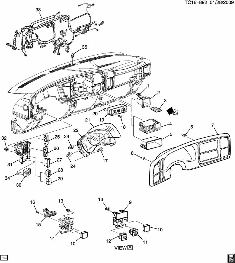 instrument panel  u0026 related parts part 2 electrical