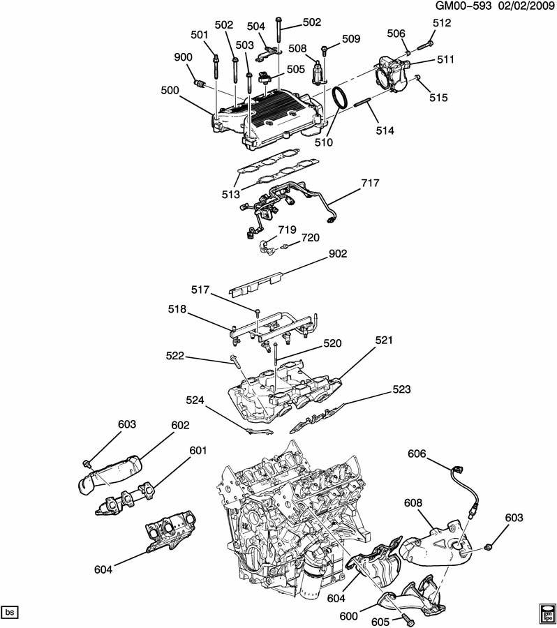 12604487 - GM Harness. Engine wiring. Harness, f/injr wrg ...