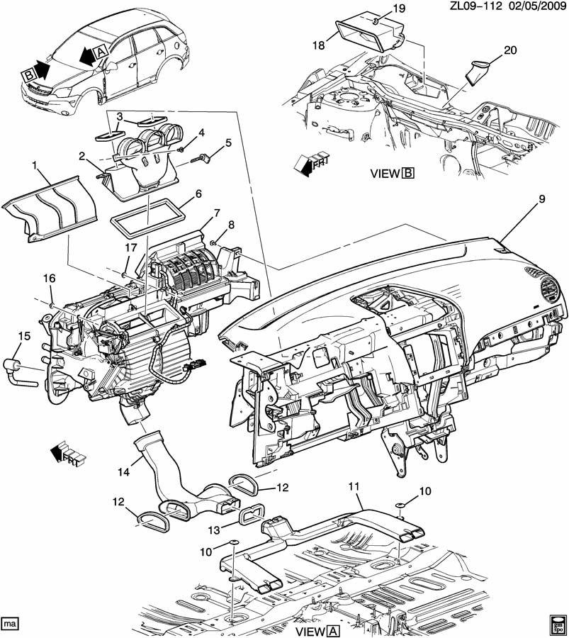 service manual  vacuum system install 2010 saturn vue