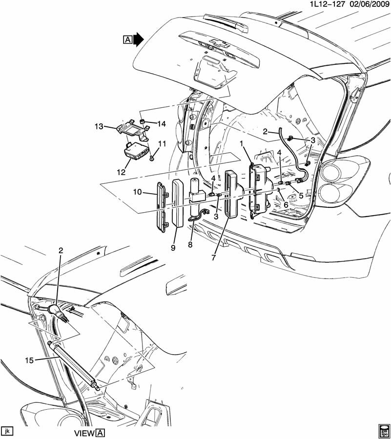2012 gmc terrain liftgate parts diagram  gmc  auto wiring