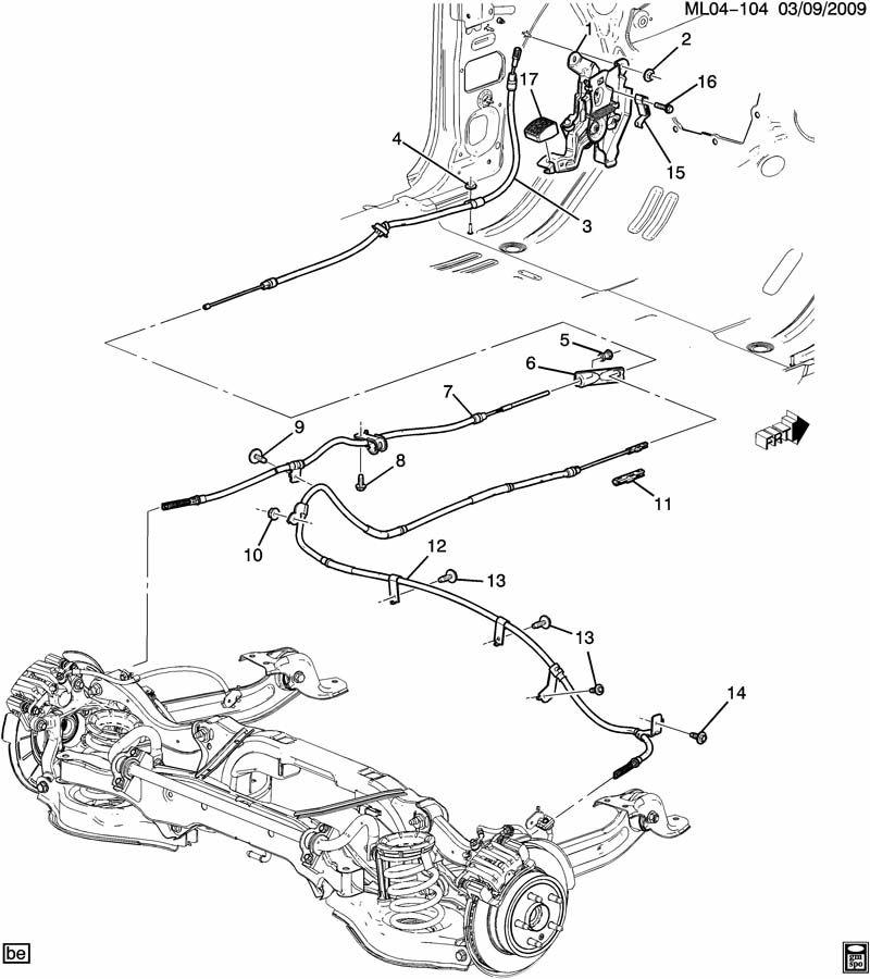 parking brake control/genuine gm part 25895583 for ... gmc parts diagrams bobcat skid loader parts diagrams #10