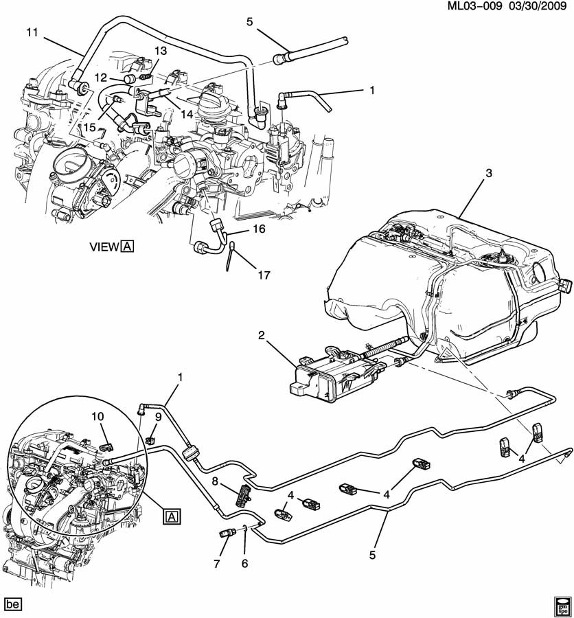 Chevrolet Equinox Pipe Assembly