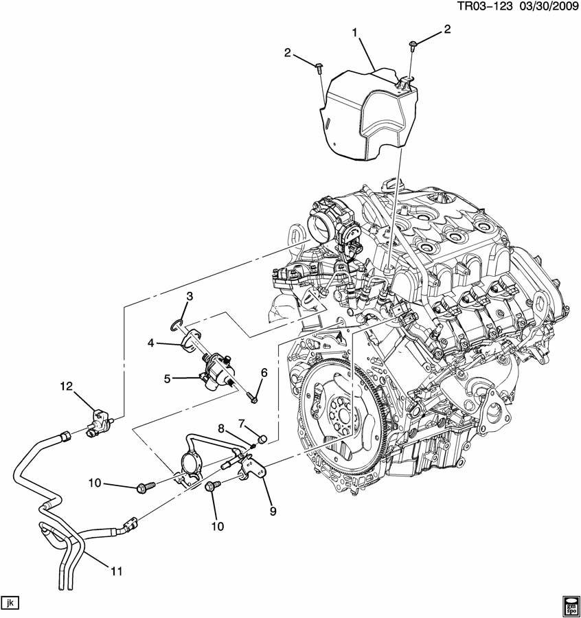 Saturn Outlook Valve  Fuel Tank Evaporator  Purge Control