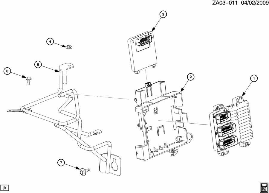 saturn ion bracket  emission control system  bracket  ecm