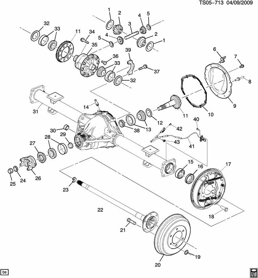 axle asm  rear  llv  2 9-9 llr  3 7e gt4