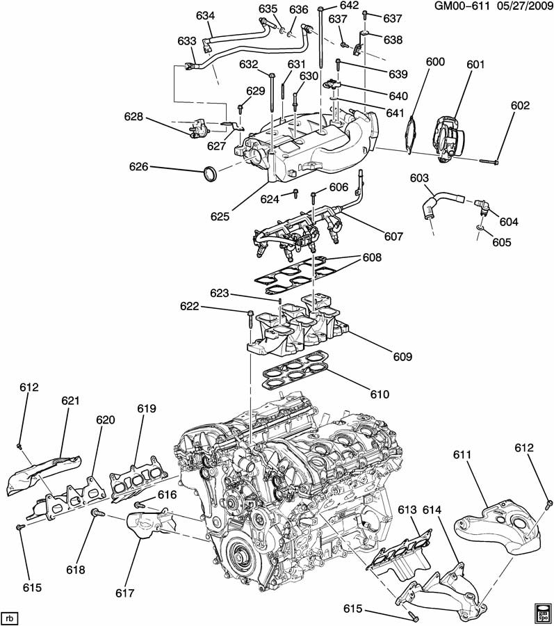 buick lucerne body parts diagram