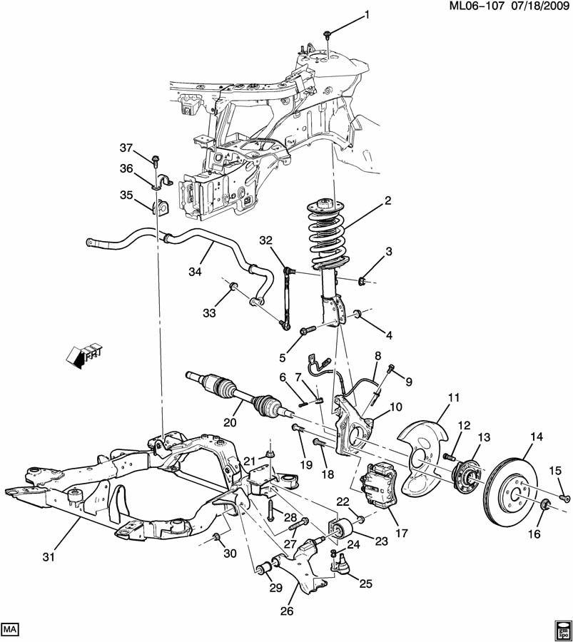 diagram of a 2 4l gmc terrain engine parts html